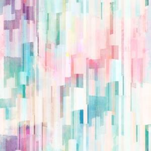 13-Aqua abstract