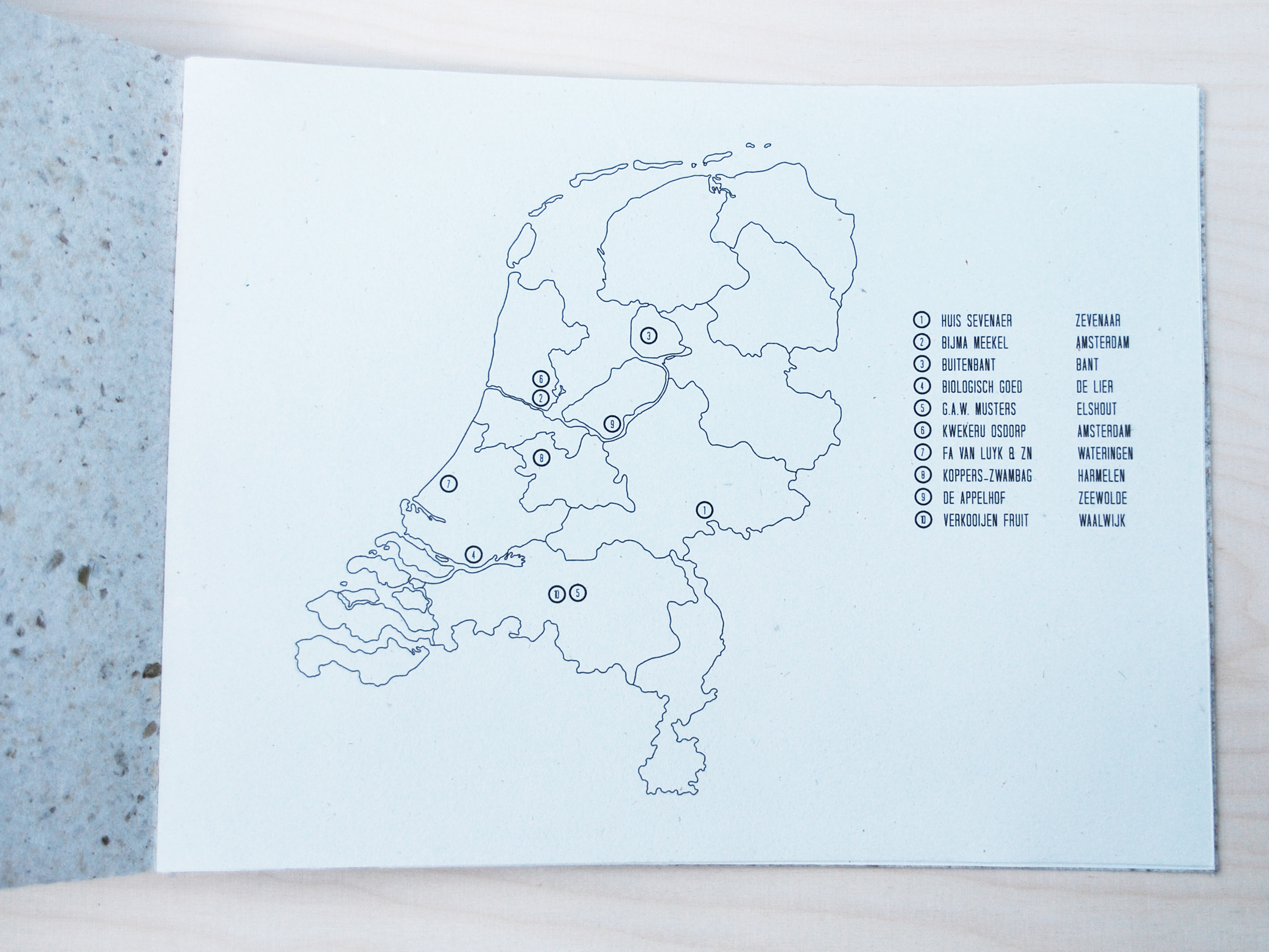 AGF Class 3 'Map of the Netherlands'